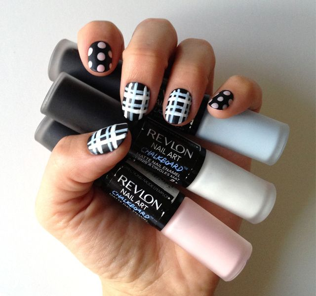Back to School Nail Art That Makes a Statement