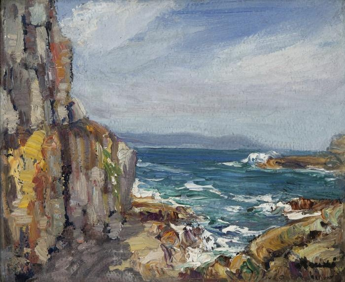 Hugo Naudé - 'Hermanus seascape'