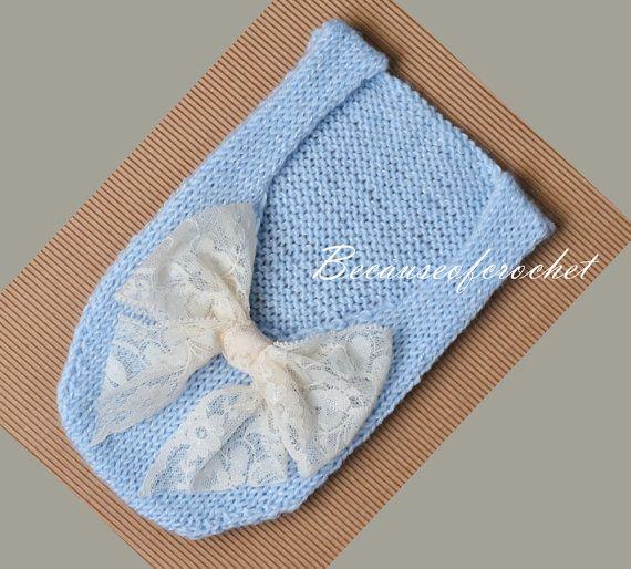 Knitting PATTERN for beginners Newborn Baby by becauseofcrochet
