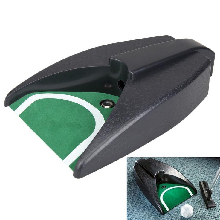 Nuovo arrivo dispositivo domestico golf ball kick indietro automatico di ritorno putting cup practice training aids