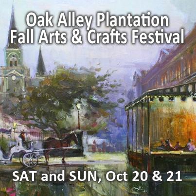 Oak Alley Plantation Fall Arts And Crafts Festival