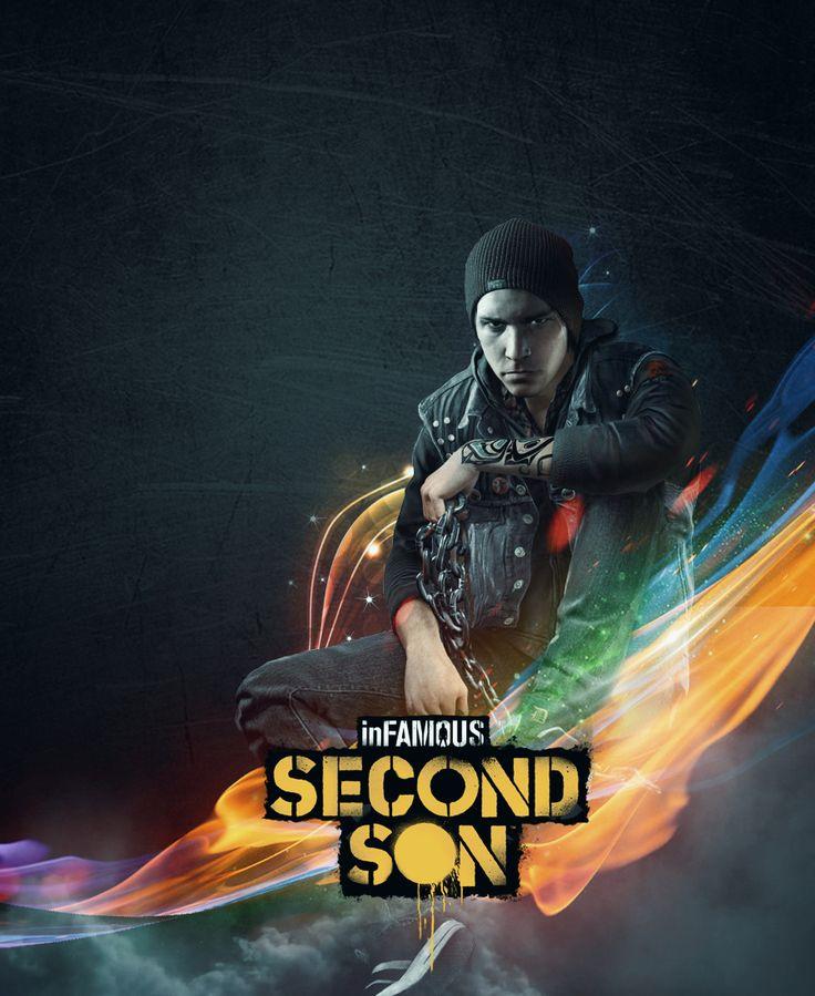 Infamous Second Son by Noc21.deviantart.com on @deviantART