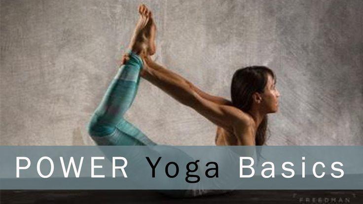 Power Yoga Basics with Michelle Goldstein : Yoga with Melissa Episode 419 - YouTube
