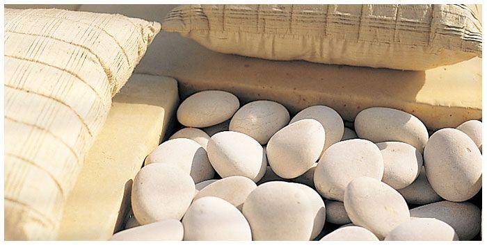 Kashmiri Snow White Large   Decorative Pebbles, Pebbles & Decorative Gravelthat Add Natural Texture to Your Garden…