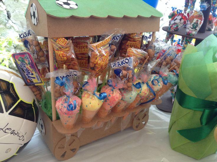 Carro de dulces