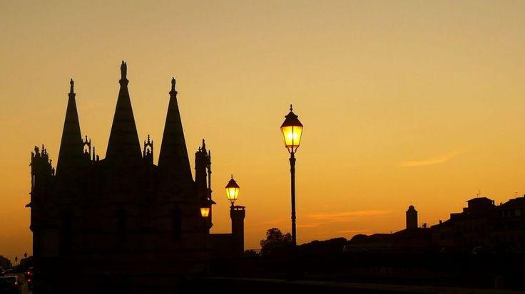 #Sunset in #Pisa, #Italy | Picfari.com