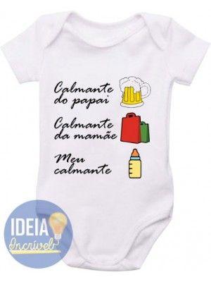 Body Infantil  - Calmantes