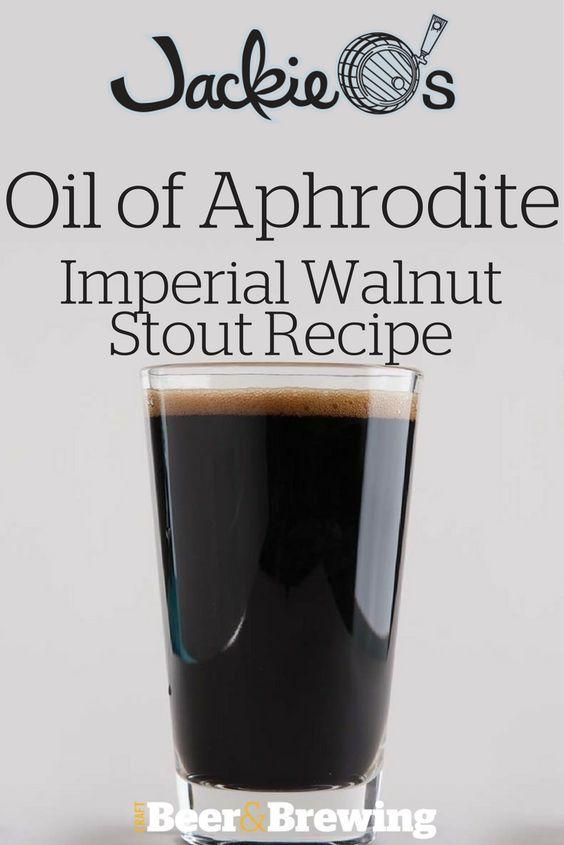 Jackie O's Oil of Aphrodite Imperial Walnut Stout Recipe (All-Grain)