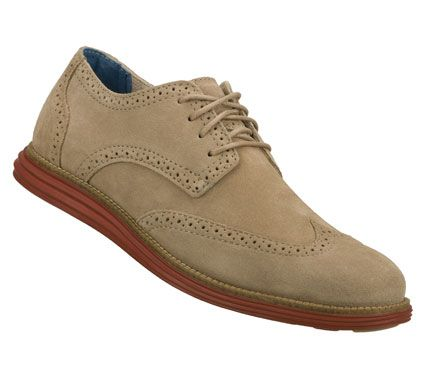 A classic cool style combines with added comfort in the Mark Nason SKECHERS  Embolden shoe.