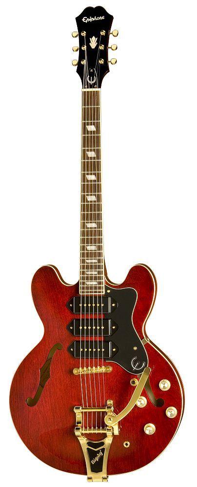 EPIPHONE Riviera custom p93 - Guitares électriques - Demi-caisse | Woodbrass.com