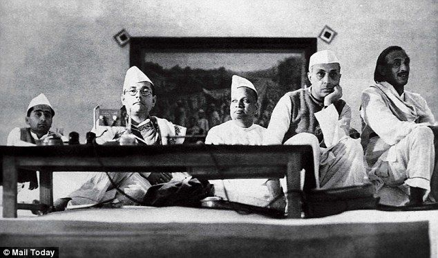 Netaji Subhas Chandra Bose (left) with Jawaharlal Nehru (right)  after Independence. The Home Ministry said releasing all Netaji-related records might cause 'a law and order problem in the country'