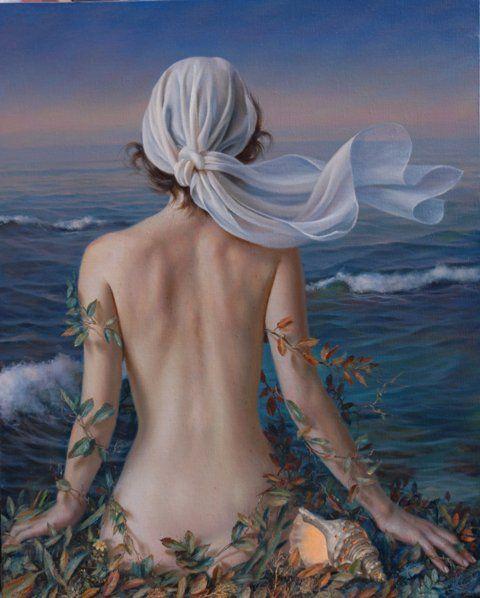 """Una bella donna non è colei di cui si lodano le gambe o le braccia, ma quella il cui aspetto complessivo è di tale bellezza da togliere la possibilità di ammirare le singole parti. """"Lucio Anneo Seneca"""" (Dipinto di. Alex Alemany) Pittore Spagnolo."""