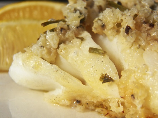 Grilled Salted Cod - Baccala alla Griglia
