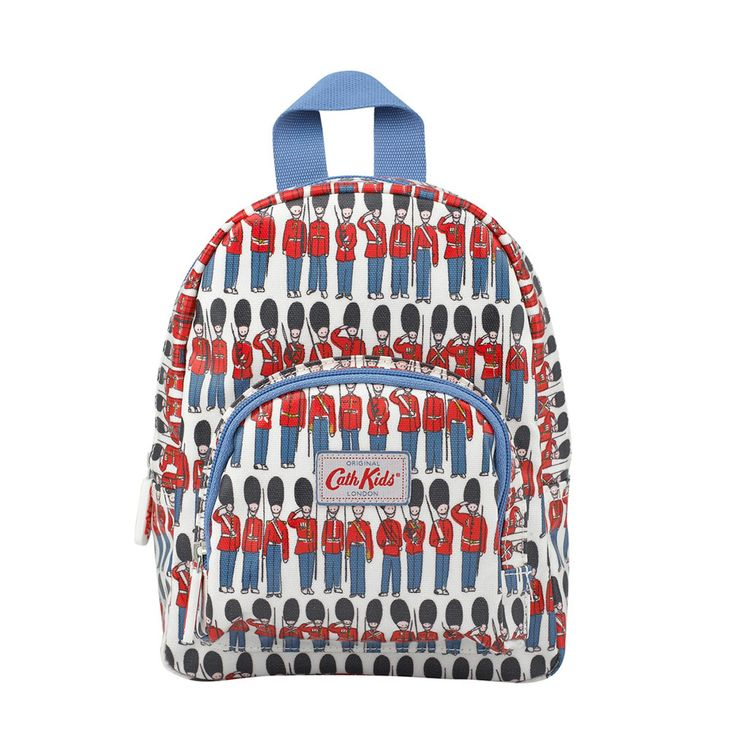 Keep your little soldiers organised from school trips to football practice with this sweet mini backpack in our classic Guards print. Sold out online? Try our stores.