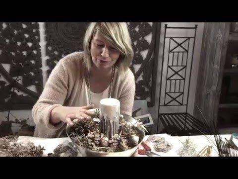 Dekotipps Weihnachten 2015 von Imke Riedebusch. Mein siebzehntes Türchen. - YouTube