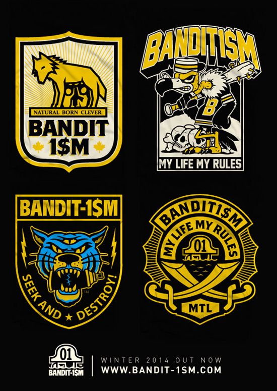 Here there is our new BANDIT-1$M winter 2014 collection