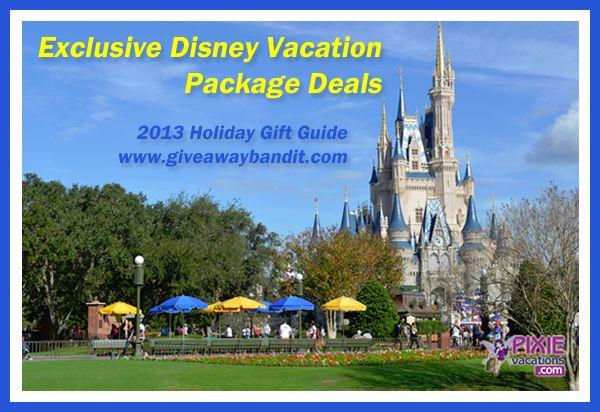 Exclusive Disney Vacation Package Deals - as low as $118 per person! #DisneyWorld #Disney