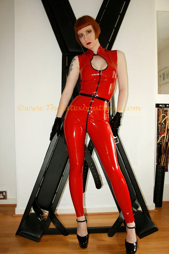 3 way zip through crotch Latex Leggings by Thelatexboutique, £79.95