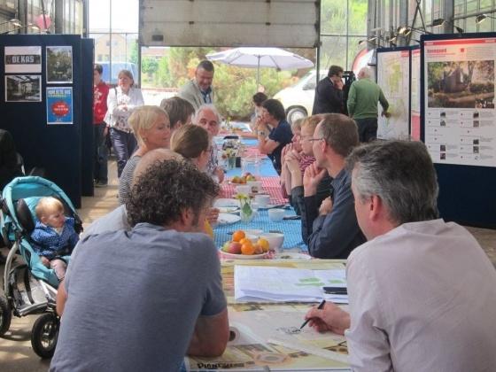 Organisatie zomerpicknick in de kas