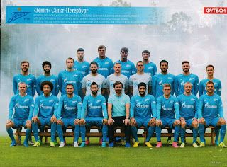 sport photo retro: Zenit St Petersburg 2015-2016