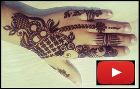 Cute Leafy Mehndi Henna design for kids   Part 1 Tutorial video on Cute Leafy Mehndi Henna design for kids Lean how to make Cute Leafy Mehndi Henna design for kids Please note : Video recorded in fast mode to save your data and time :). Play it slow, if required. You can also follow me on Facebook : https://www.facebook.com/addonbeauties/