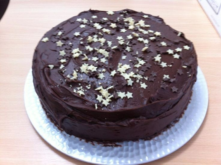 James Celebrated his *Cough* Birthday with a Chocolate fudge cake!!