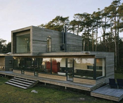 A Contemplative Swedish Summer House in Stockholm's Archipelago | Home Design Find