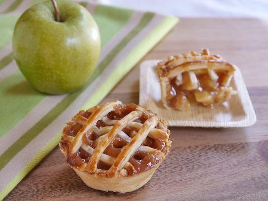 Mini Caramel Apple Pies