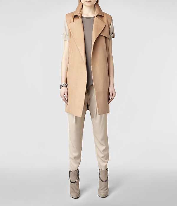 sleeveless trench. yes, no, maybe?