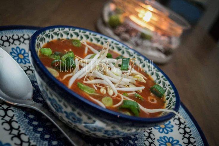 Chinese Tomatensoep #suikervrij