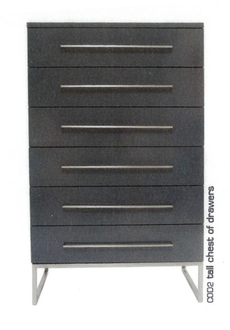 Tall chest of drawers, design by Melanie Hall. #melaniehall #melaniehalldesign #drawers #furniture