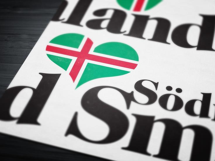 Södra Småland logotyp och varumärkesplattform.