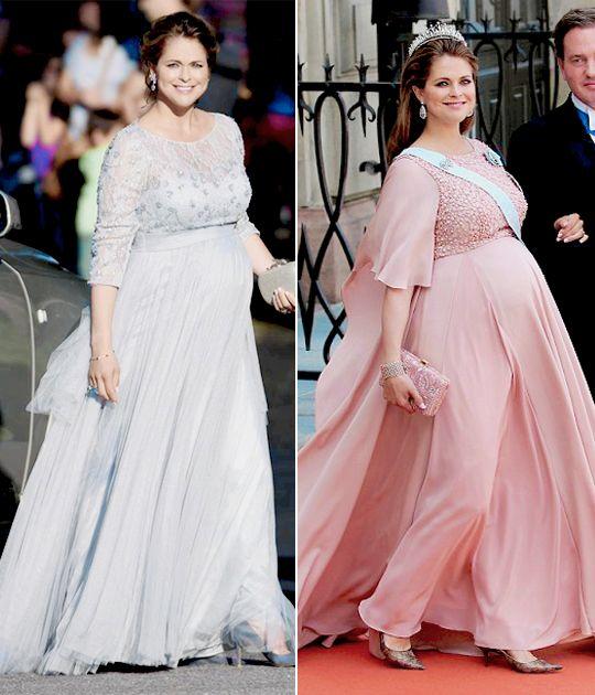 Princess Madeleine slaying pregnancy