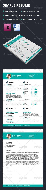 Standard Font Size For Resume 1749 Best Minimal Resume Images On Pinterest  Print Templates .