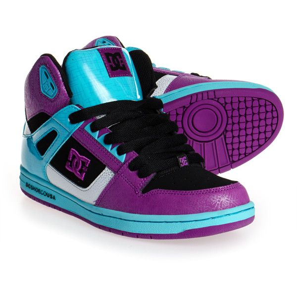 DC Shoes Rebound High Boots (Black/Grape)