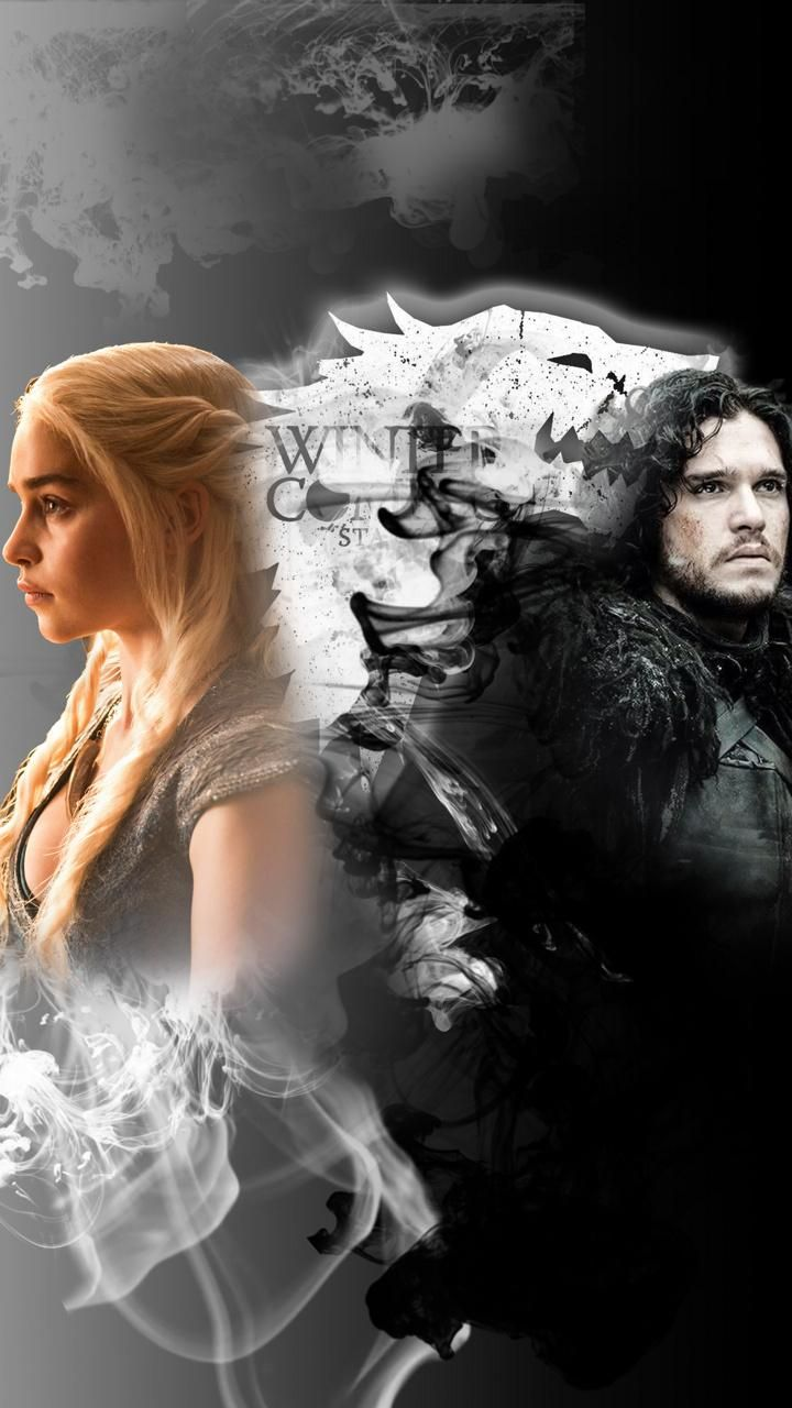 Jon and Daenerys iPhone wallpaper Jonerys edit