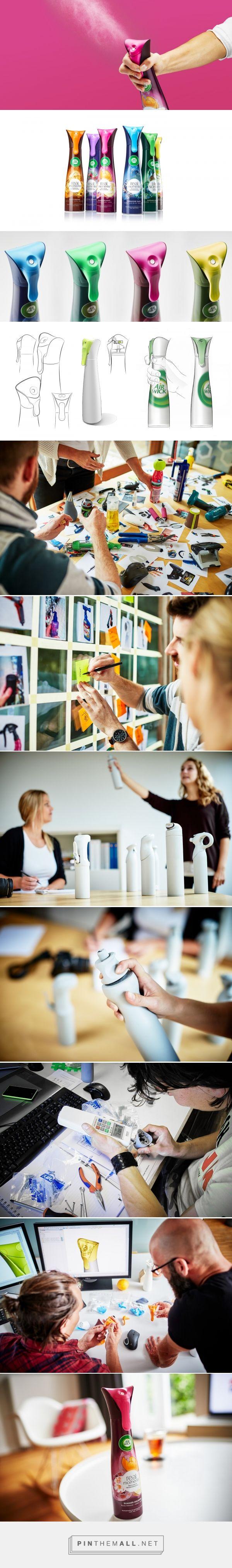 Airwick Life Scents Room Spray packaging#design by VanBerlo Design - https://www.packagingoftheworld.com/2018/03/airwick-life-scents-room-spray.html