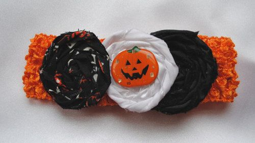 Check out All Things Crafty Halloween baby headbands! www.allthingscrafty-atc.com