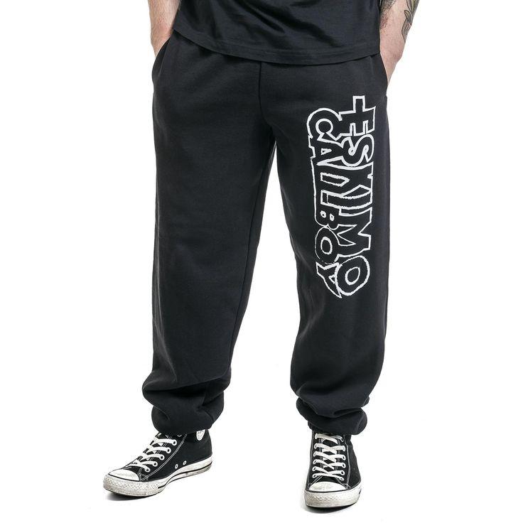 """Pantaloni uomo sportive """"Logo"""" degli #EskimoCallboy."""