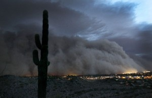 Monsoon storm (AZ)-Have experienced this. This is primal and savage beauty. DO NOT MESS WITH MOTHER NATURE