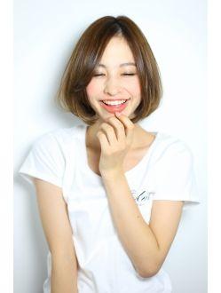 エルメ ElmeElme Style !! 22  hair 小熊 make 山崎 ヘアカタログ hair ボブ