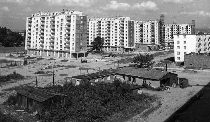 Třída Kosmonautů - sídliště postavené v 1. polovině 60. let