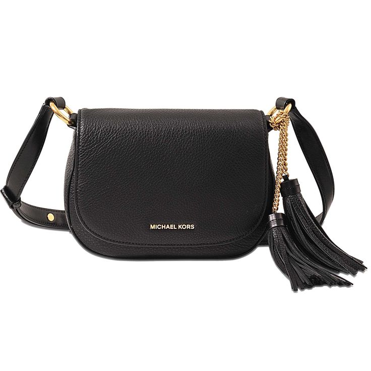 Sac Elyse Md Saddle Bag Michael Michael Kors Noir - Monnier Frères