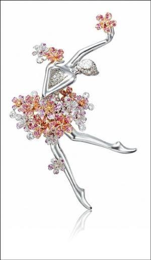 Anna Hu Haute Joaillerie Ballerina