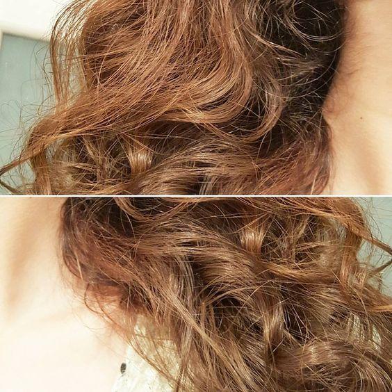 Le masque pour les cheveux avec la vitamine в2 et в12