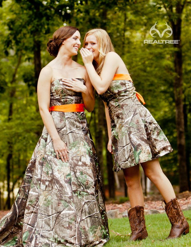 Realtree Apg Camo Wedding Dresses Trails Of Happiness