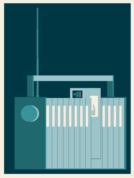 The Postal Service - Final Show poster by Jason Munn