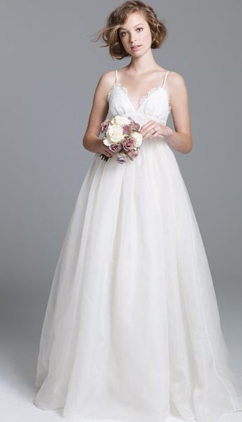 love this simple, but classic wedding dress from J.Crew.