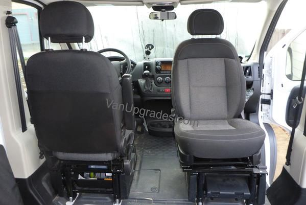 ford transit single passenger seat conversion