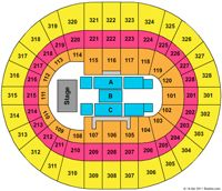 Scotiabank Place Concert Seating Chart